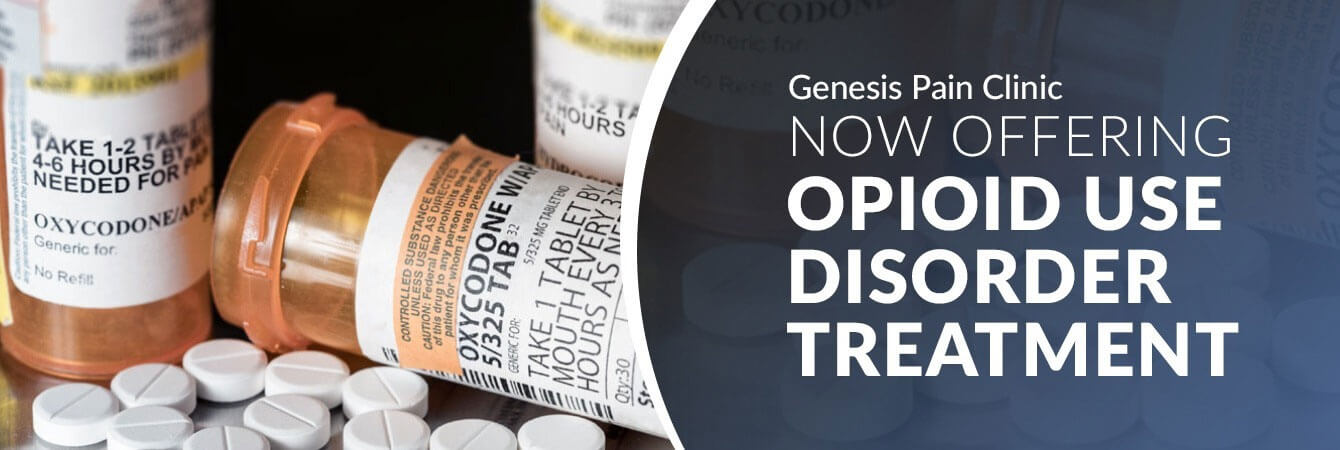 Now Offering Opioid Disorder Treatment